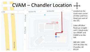 cvam chandler location directions